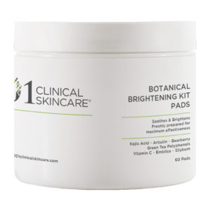 101 clinical skincare Botanical Brightening Kit Pads