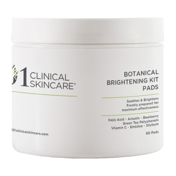101 clinical skincare Botanical Brightening Kit Pads
