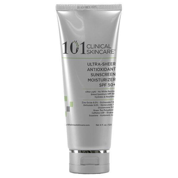 Ultra – Sheer Antioxidant Sunscreen Moisturizer SPF 50+