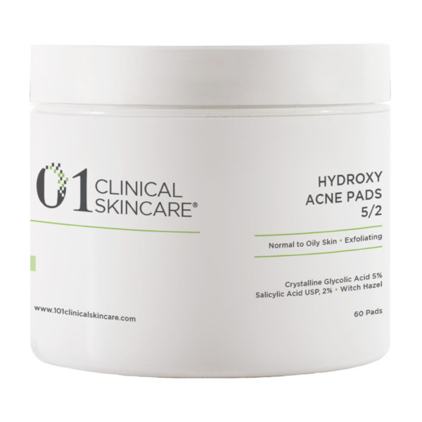 101 Clinical Skincare Hydroxy acne Pads
