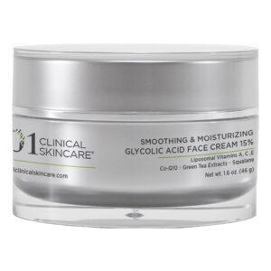 Smoothing & Moisturizing Glycolic Acid Face Cream 15%