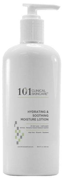 101 Clinical Skincare Hydrating & Soothing Moisturizer