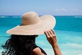 wide brimm hats to prevent sunburn