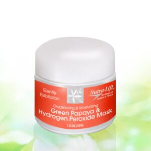 Green Papaya & Hydrogen Peroxide Mask